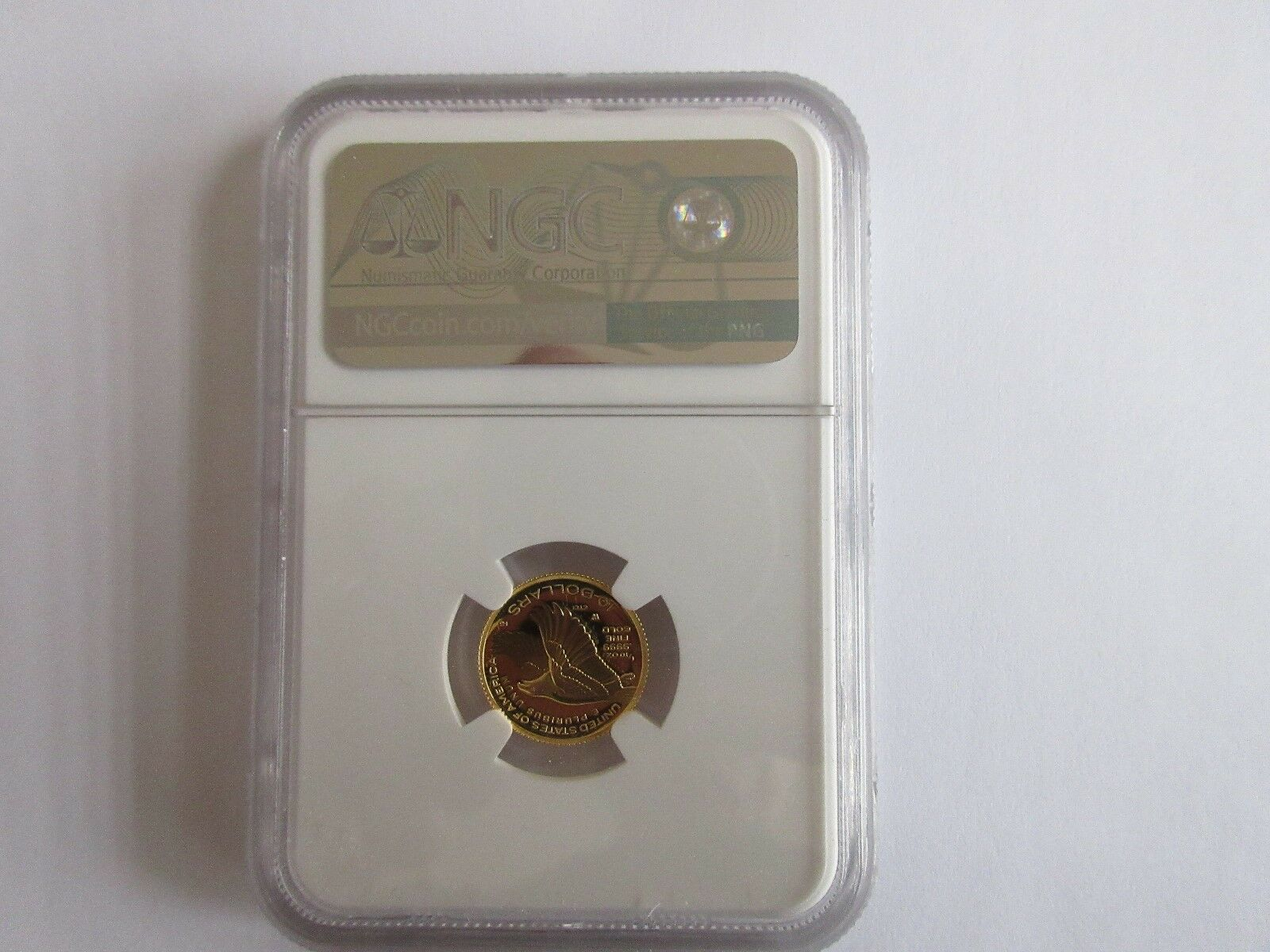 2018-W American Liberty 1/10 Ounce Gold HIGH RELIEF PF7