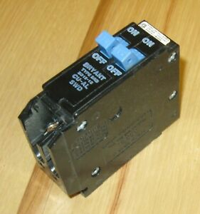 Challenger 15 amp Type A 15//15 Twin Tandem Circuit Breaker used