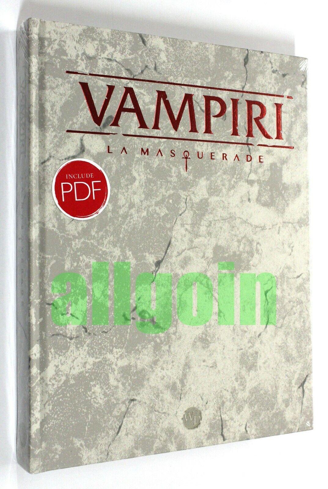 Vampiri La  Masquerade uomoUALE BASE 5e 5^ EDIZIONE QUINTA V5 (LIBRO + PDF) DELUXE  vendita scontata online di factory outlet