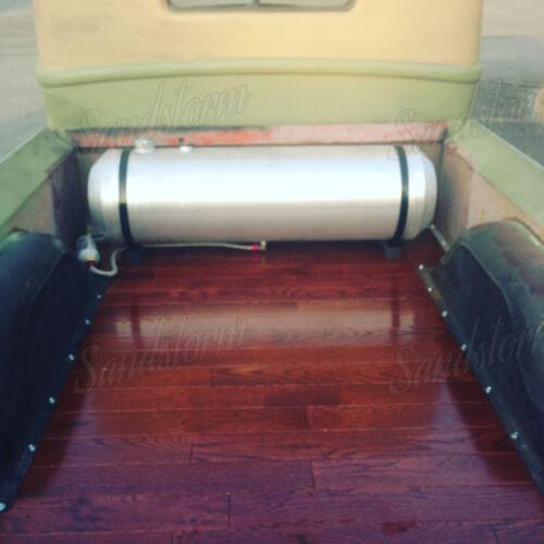 9.25 Gallon 1//4 NPT 10x28 Center Fill Spun Aluminum Gas Tank w//Sender Flange