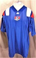 Vintage 90's Adidas USA Away World Cup (XL)  Retro Graphic Team Jersey Blue