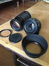 Pentax 645 P645 Lenses Bundle 75mm 2.8 LS and 200mm F4