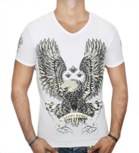 T-Shirt - Kingz Rebel Eagle - weiß  | Konzentrieren Sie sich auf das Babyleben  | Outlet Store Online  | Sale