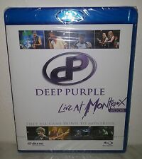 BLU-RAY DEEP PURPLE - LIVE AT MONTREUX 2006 - NUOVO NEW