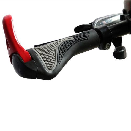 1pair Bike Grips Anti-Skid Ergonomic Bicycle Grips Bike Handlebars Rubber KK