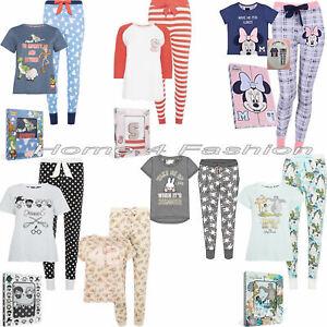 artisanat exquis meilleur prix prix de détail Détails sur Primark Box Pyjamas Filles Femmes Noël Pyjama Femme Disney Noël  Pyjama NEUF- afficher le titre d'origine