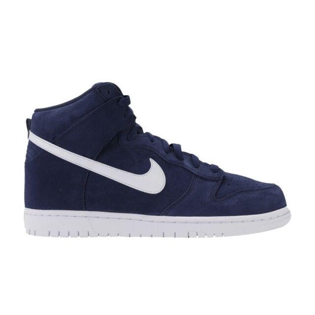 2017 Nike Dunk High Binary Navy Blue / White SB Size 6 - 904233 400
