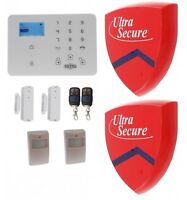 Kp9 3g Gsm Alarm Kit E With 2 X Dummy Alarm Boxes