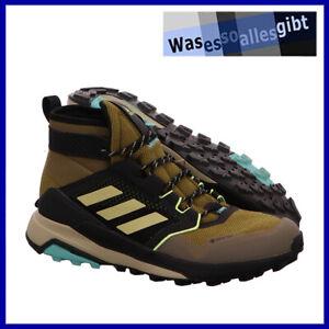 SCHNÄPPCHEN! adidas Terrex Trailmaker Mid GTX \ braun/gelb \ Gr.: 44 \ #O 22031