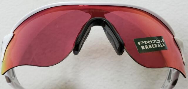 99dad5adc49cb BRAND Oakley Oo9181-33 Radarlock Path Prizm Field Baseball White Sunglasses