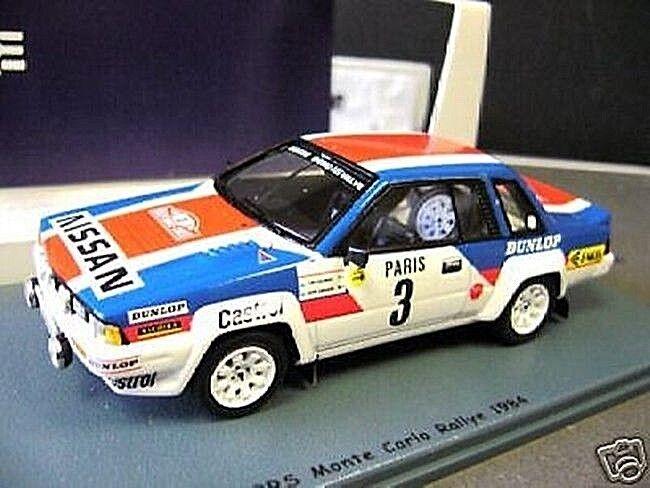 NISSAN 240 RS 240rs MIS. B Rally Monte 1984 Salonen #3 SPARK bizzarre S-prezzo 1:43
