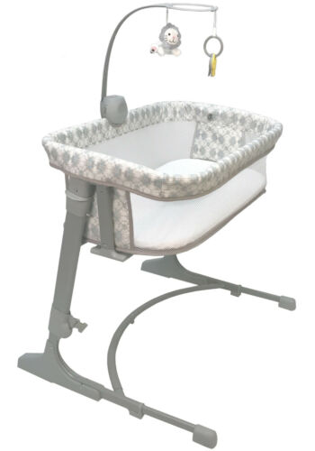 Arm's Reach Versatile Adjustable Infant Baby CoSleeper Bedside Bassinet Bliss