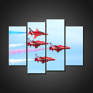 RED ARROWS CANVAS PRINT PICTURE WALL ART HOME DECOR FREE FAST DELIVERY