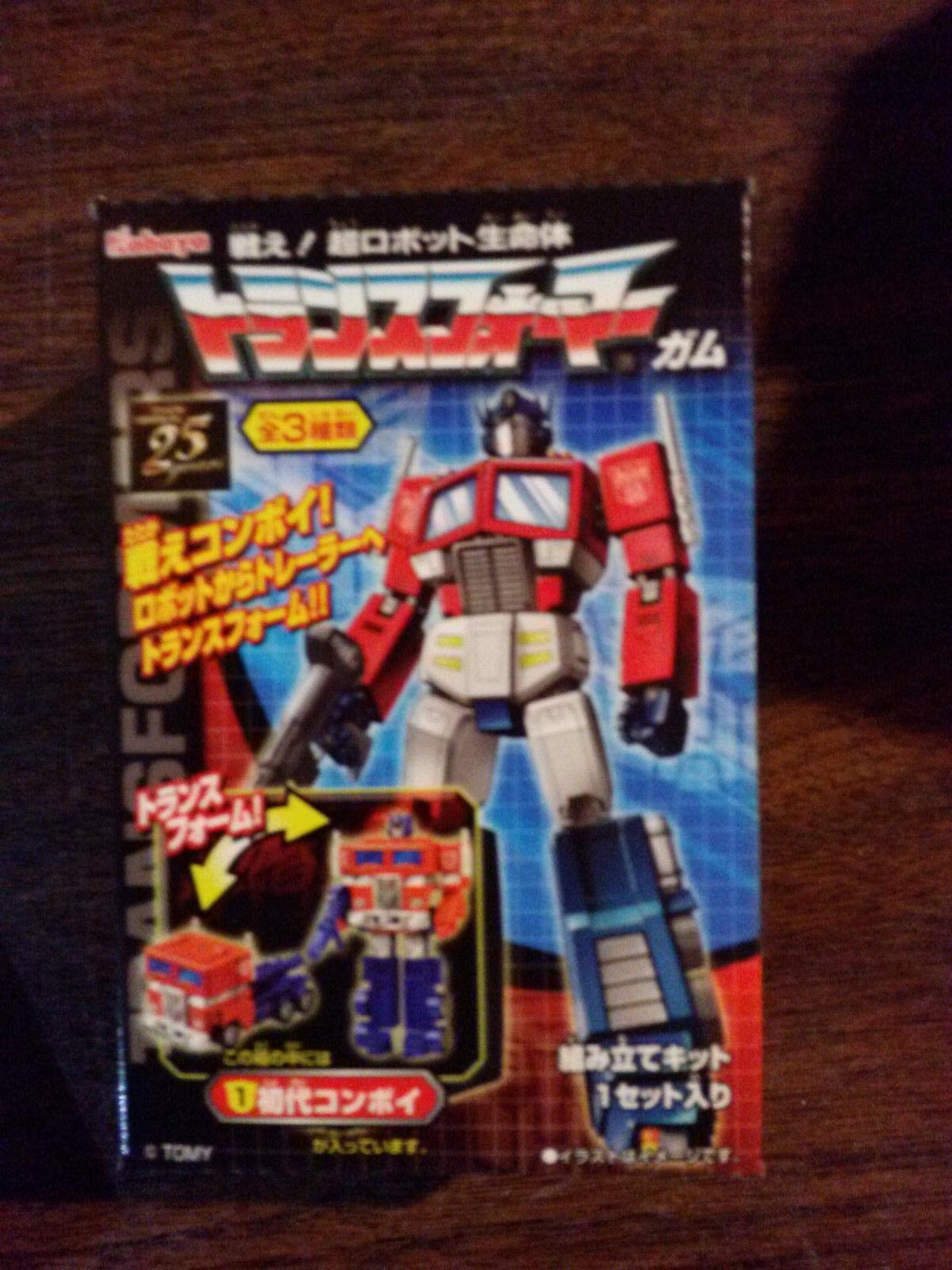 Transformers Takara Kabaya Kit G1 Optimus Prime NEW
