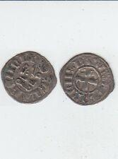 *Gertbrolen Orient Latin Achaie Florent de Hainaut Denier  argent (1289-1297)