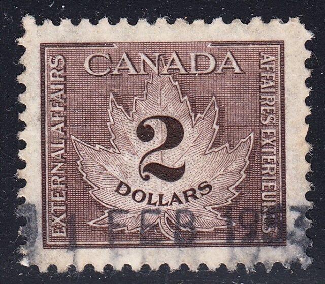 CANADA REVENUE FCF4 USED VF