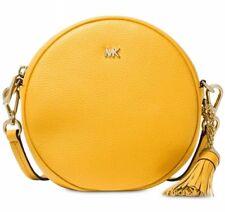 3ac878f28e84 Michael Kors Canteen Sunflower Pebble Leather Crossbody Bag for sale ...