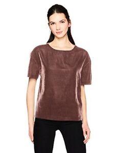 Calvin-Klein-Jeans-Womens-Short-Sleeve-Velvet-Crew-Neck-T-Shirt-Pick-SZ-Color