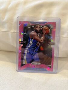 2019-20-Panini-Prizm-ERIC-PASCHALL-Pink-Cracked-Ice-Prizm-RC-279-Warriors