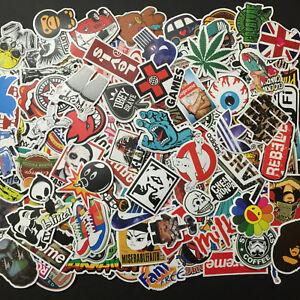 100-Random-Skateboard-Stickers-Vinyl-Laptop-Luggage-Decals-Dope-Sticker-Lot-Mix