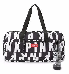 43bd1c29ce Victoria s Secret PINK Black Friday Logo Gym Bag Duffle Travel Tote ...