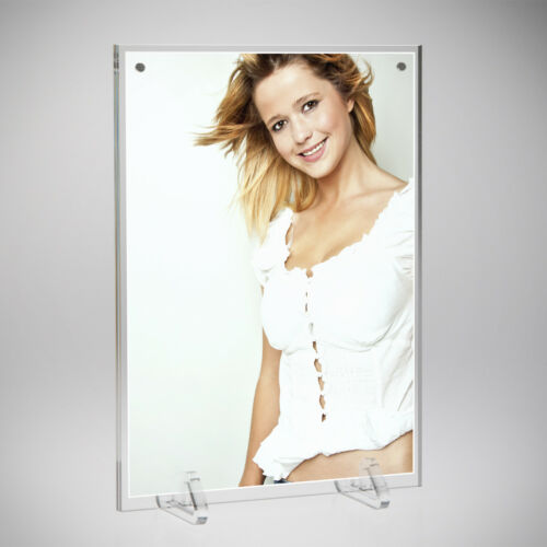 Double Sided Freestanding Photo FrameFreestanding Photo Frame Picture Holder