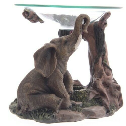 Duftlampe Elefant Elephant Indien Afrika Aromalampe Duftöllampe Aromatherapie