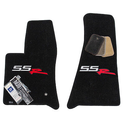 2003 - 2004 Chevrolet SSR Floor Mats - Black - 32OZ 2-PLY - USA Quality - Custom