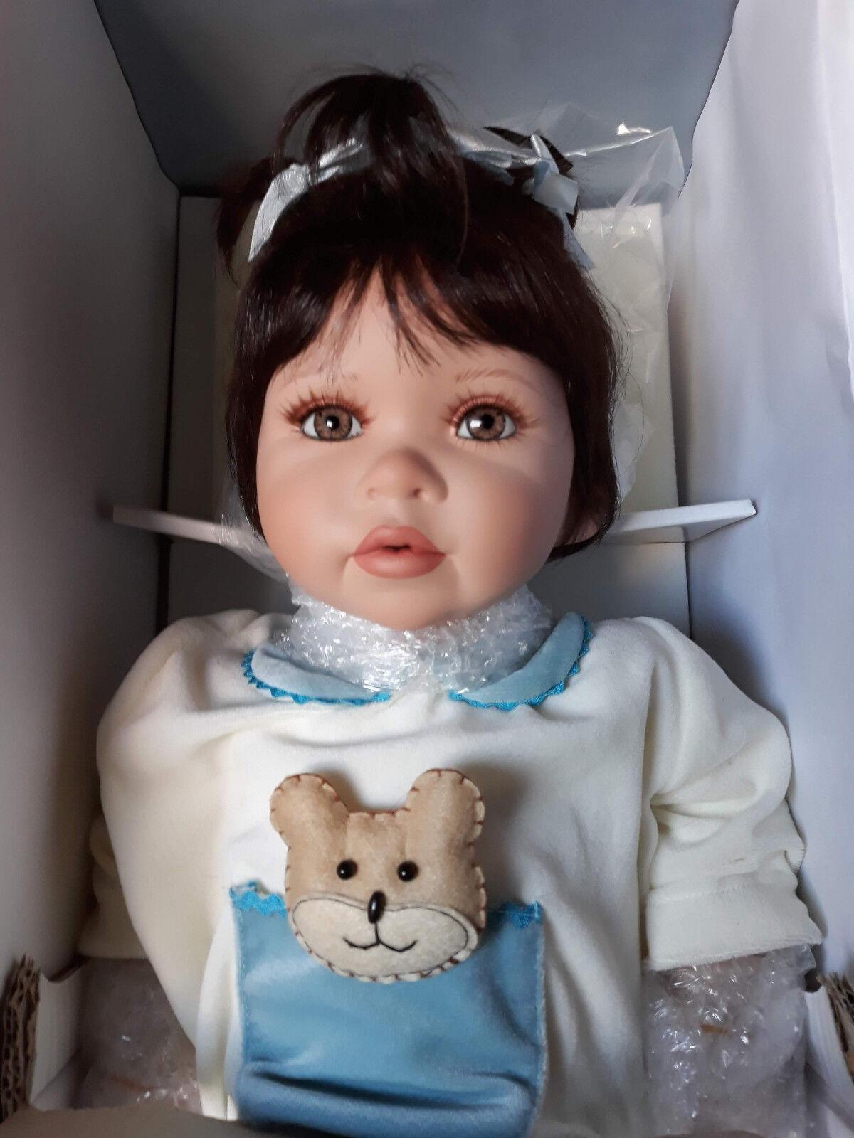 Original de porcelana artistas muñeca p. Mackie sandra muñeca de porcelana