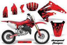 AMR Racing Honda CR85R Graphic Kit Decal Sticker MX Wrap 2003-2007 DMND FLAME K