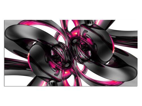 HD générons eg4100500742 modern design rose 100 x 50 CM la fresque abstrait