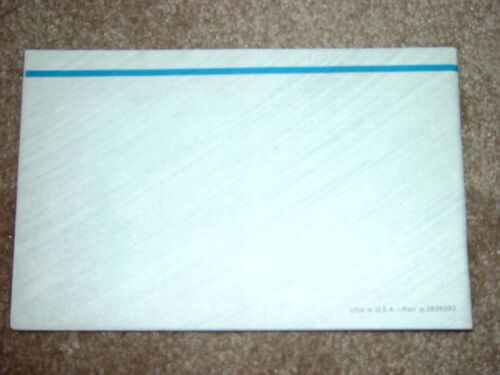 1965 Chevy II Factory Original GM Owners Manual Printed February 1965 Mint