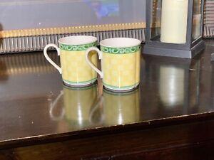 VILLEROY-amp-BOCH-Switch-034-SUMMERHOUSE-ACACIA-034-Coffee-Tea-Espresso-cup-Set-of-2