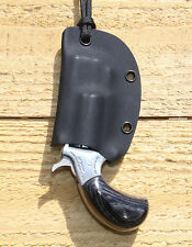 Kydex Neck Holster For NAA .22 PUG- Black