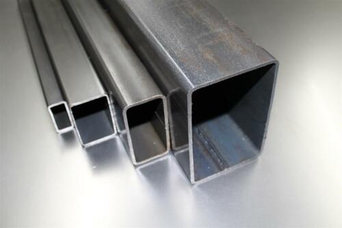 80x60x3mm Rechteckrohr Vierkantrohr Profilrohr Stahl-rohr bis 1000mm 11,05€//m