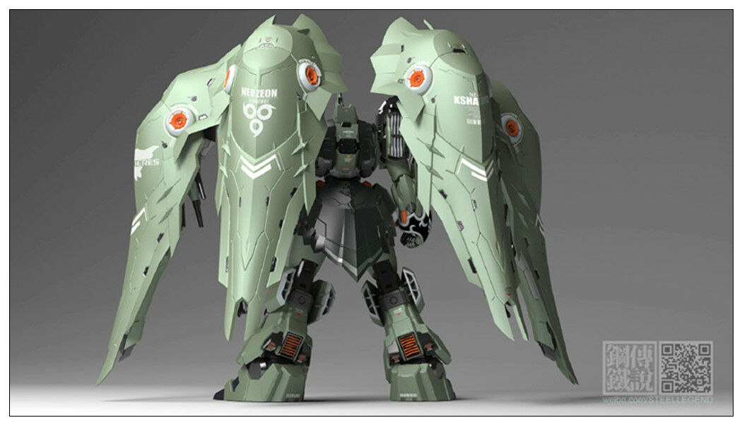 New Steel Legend SL-01 1 100 NZ-666 Kshatriya Gundam Diecast toy will arrival