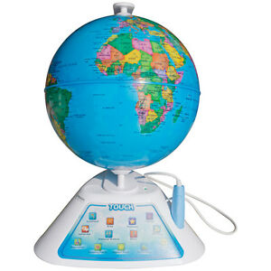 Oregon Scientific SmartGlobe Discovery Interactive Globe w Smart Pen SG268