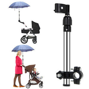 Velo-fauteuil-roulant-Poussette-Chaise-extensible-Parapluie-Soutien-Support-De