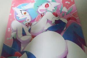 Pokemon-Doujinshi-Gardevoir-principal-B5-de-28-paginas-Metalico-Acero-Herramienta-para-telefonos