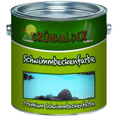 Baugewerbe Das Beste Grünwalder Premium Poolfarbe Schwimmbeckenfarbe Grün Schwimmbadbeschichtung üBerlegene Leistung