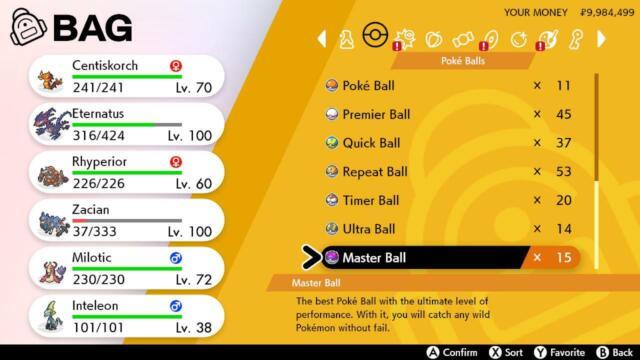 Pokemon Sword & Shield Master Ball - Legitimately Acquired via Pokelotto