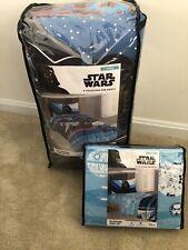 New NWT Disney Star Wars Darth Vader Microfiber Reversible Comforter  Full//Queen