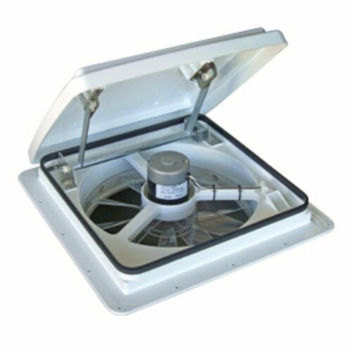 RV Roof Exhaust Vent Fan Speed Control Camper Trailer Ventilation Replacement