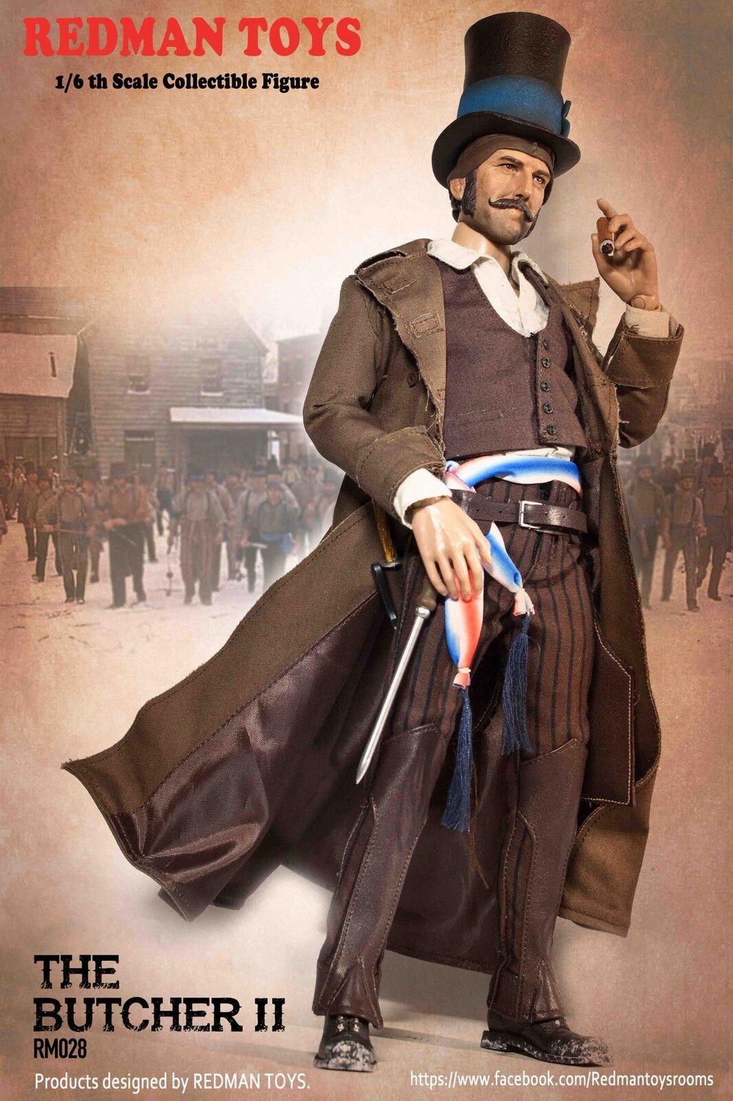 RossoMAN TOYS 1/6 Gangs Of Nuovo York Bill The Butcher II Figure RM028 Rainman