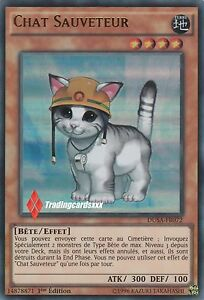 Yu-Gi-Oh-Chat-Sauveteur-Rescue-Cat-DUSA-FR072-VF-Ultra-Rare