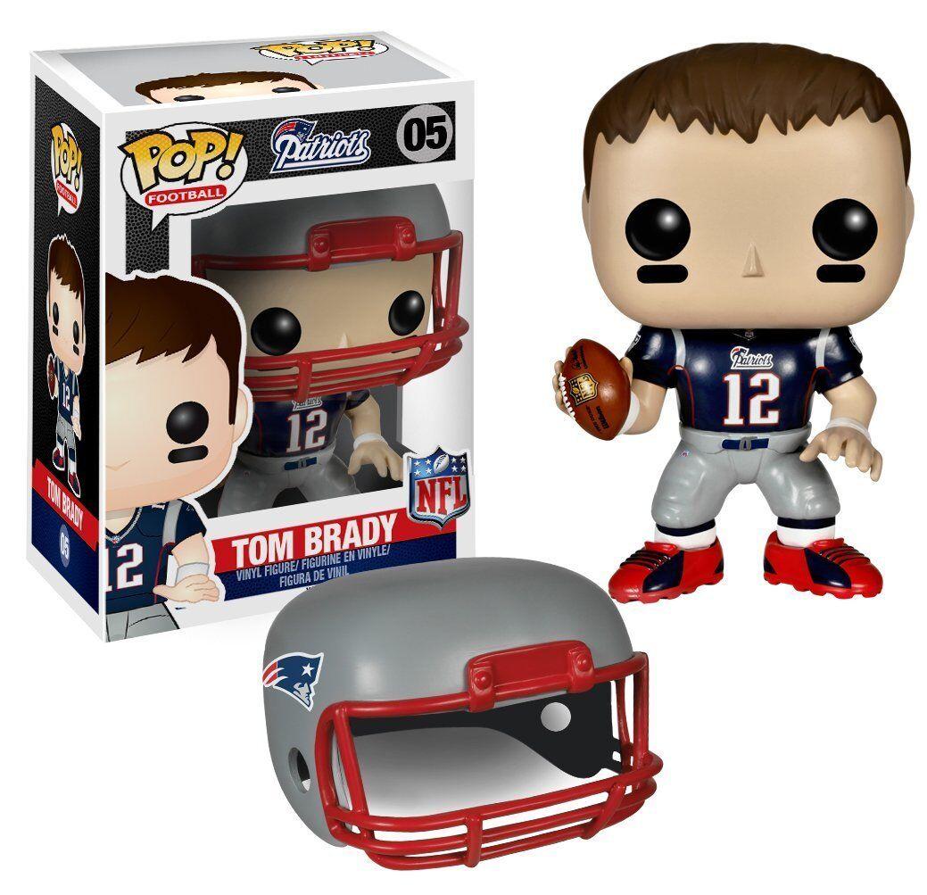 Funko Pop  Football Patriots Tom Brady Wave 1 Brand-New Exclusive