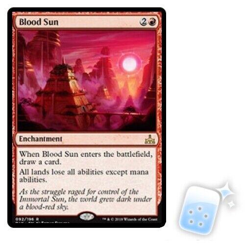 Rare Blood Sun Rivals of Ixalan MTG Magic