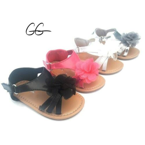 Baby Infant Toddler Girls Mary Jane Sandals Shoes size 1-6 New