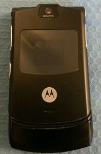 MOTOROLA-RAZR-V3-BLACK-T-MOBILE-CELLULAR-PHONE