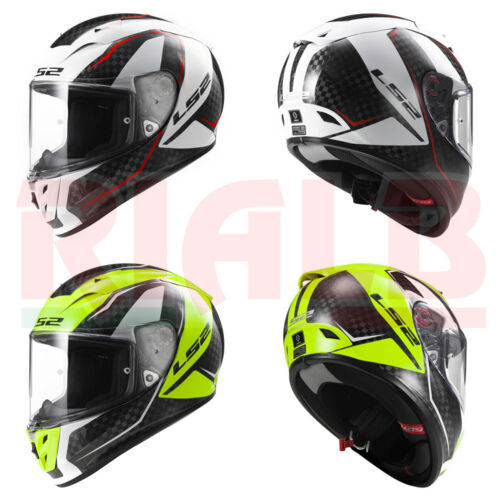 Casco Integrale per Moto /& Scooter LS2 FF323 ARROW C FURY in Fibra di Carbonio